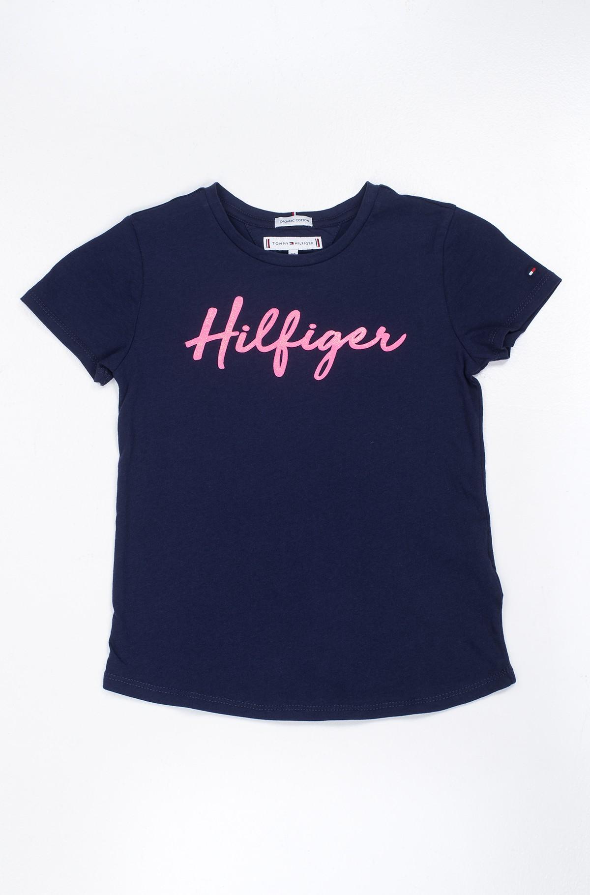 Vaikiški marškinėliai trumpomis rankovėmis Hilfiger tee s/s-full-1