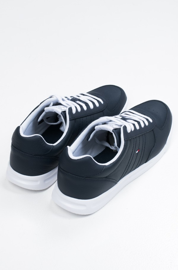 LIGHTWEIGHT LEATHER SNEAKER FLAG-hover