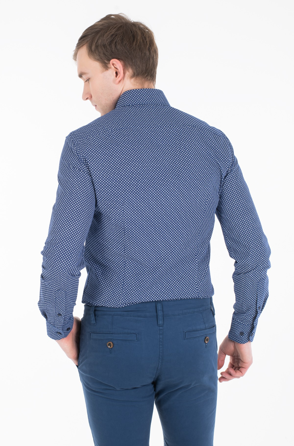 Shirt MICRO PRINT CLASSIC SLIM SHIRT-full-3