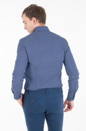 Marškiniai MICRO PRINT CLASSIC SLIM SHIRT-3