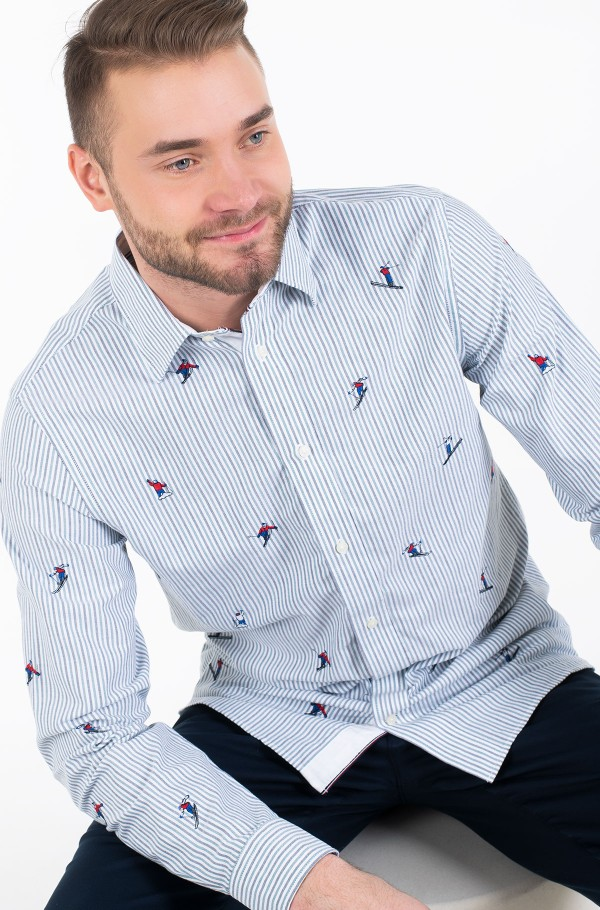 ALLOVER EMBROIDERY SHIRT