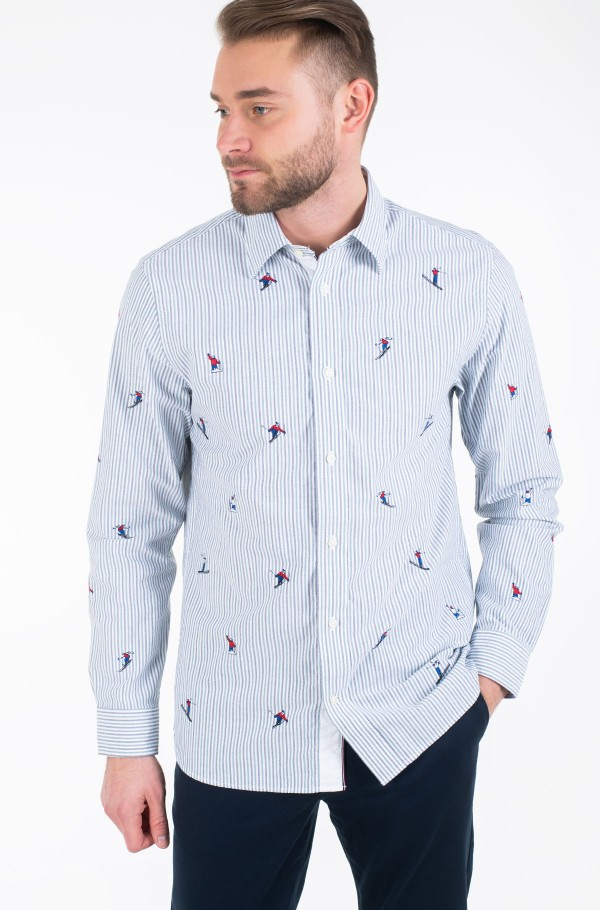 ALLOVER EMBROIDERY SHIRT-hover