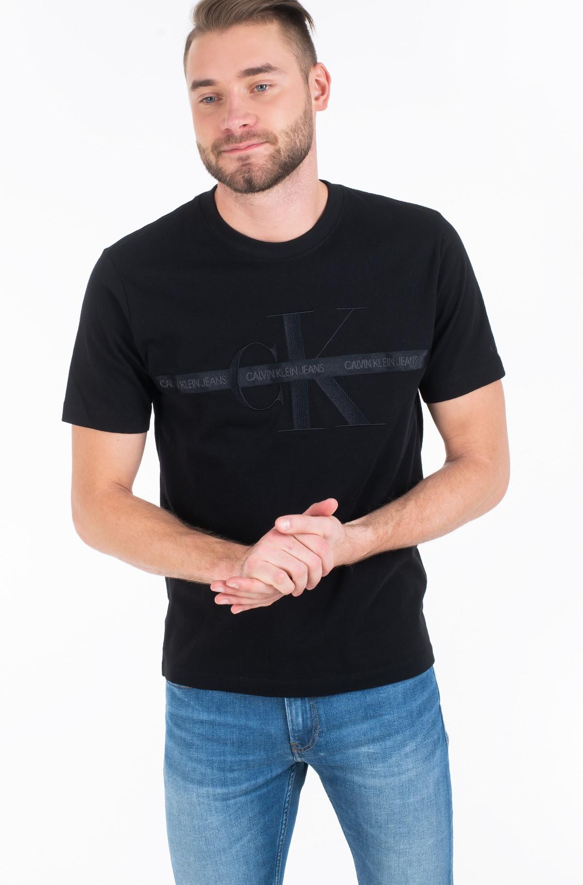 Marškinėliai TAPING THROUGH MONOGRAM REG TEE-full-2