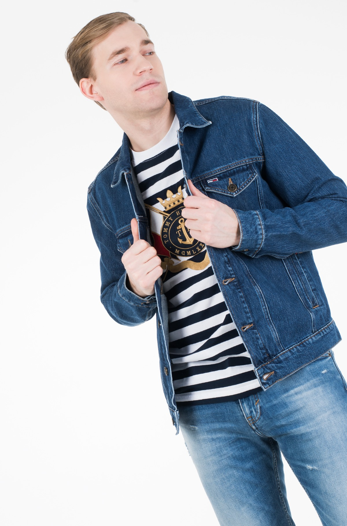 Denim jacket REGULAR DENIM JACKET ALNM-full-1