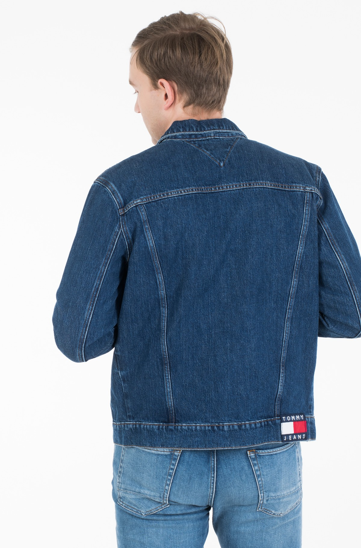 Džinsinis švarkas REGULAR DENIM JACKET ALNM-full-3