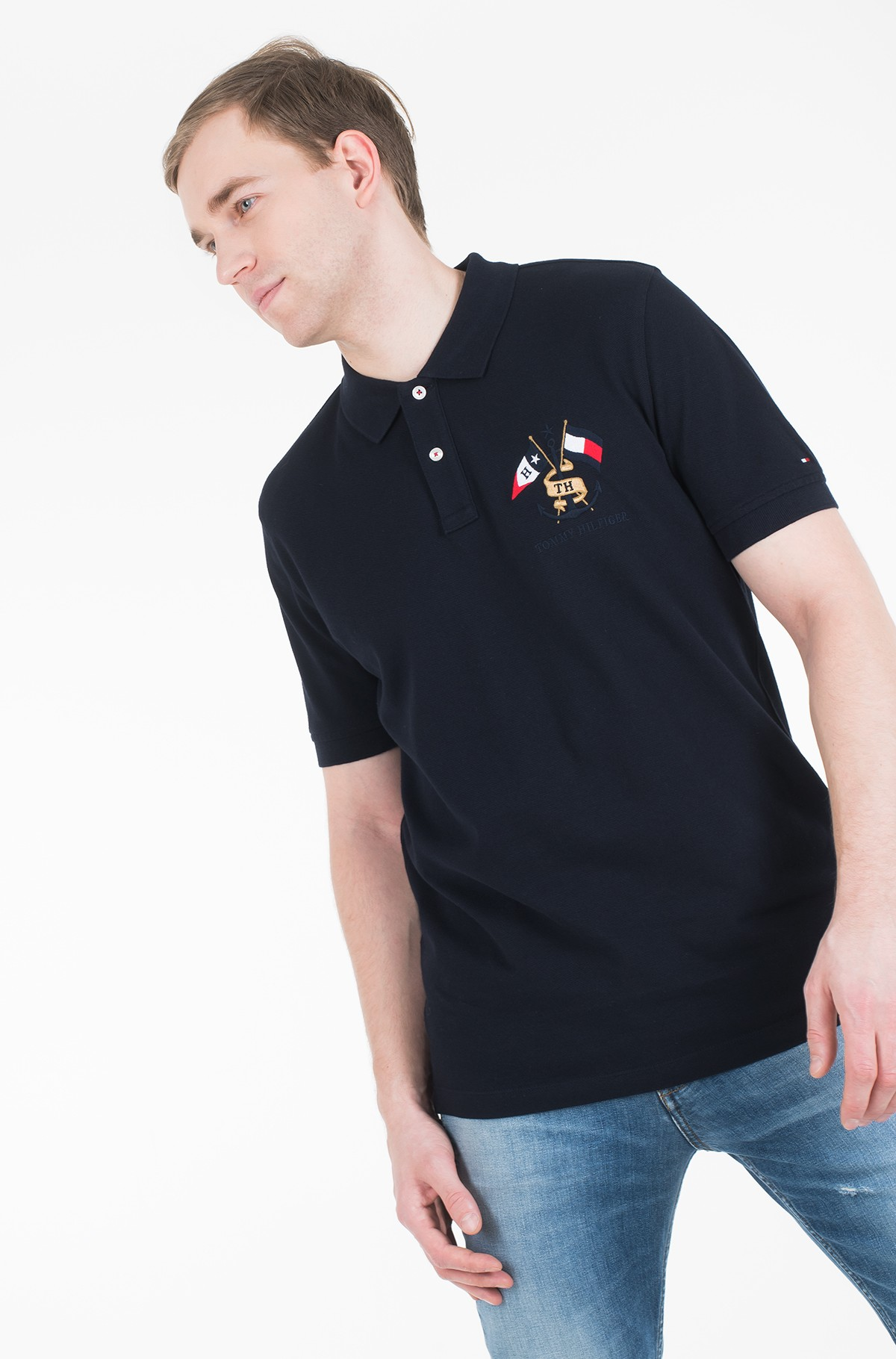 Polo CREST EMBROIDERY REGULAR POLO-full-1