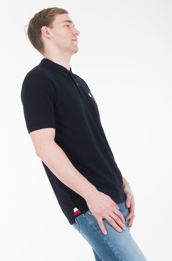 CREST EMBROIDERY REGULAR POLO-hover