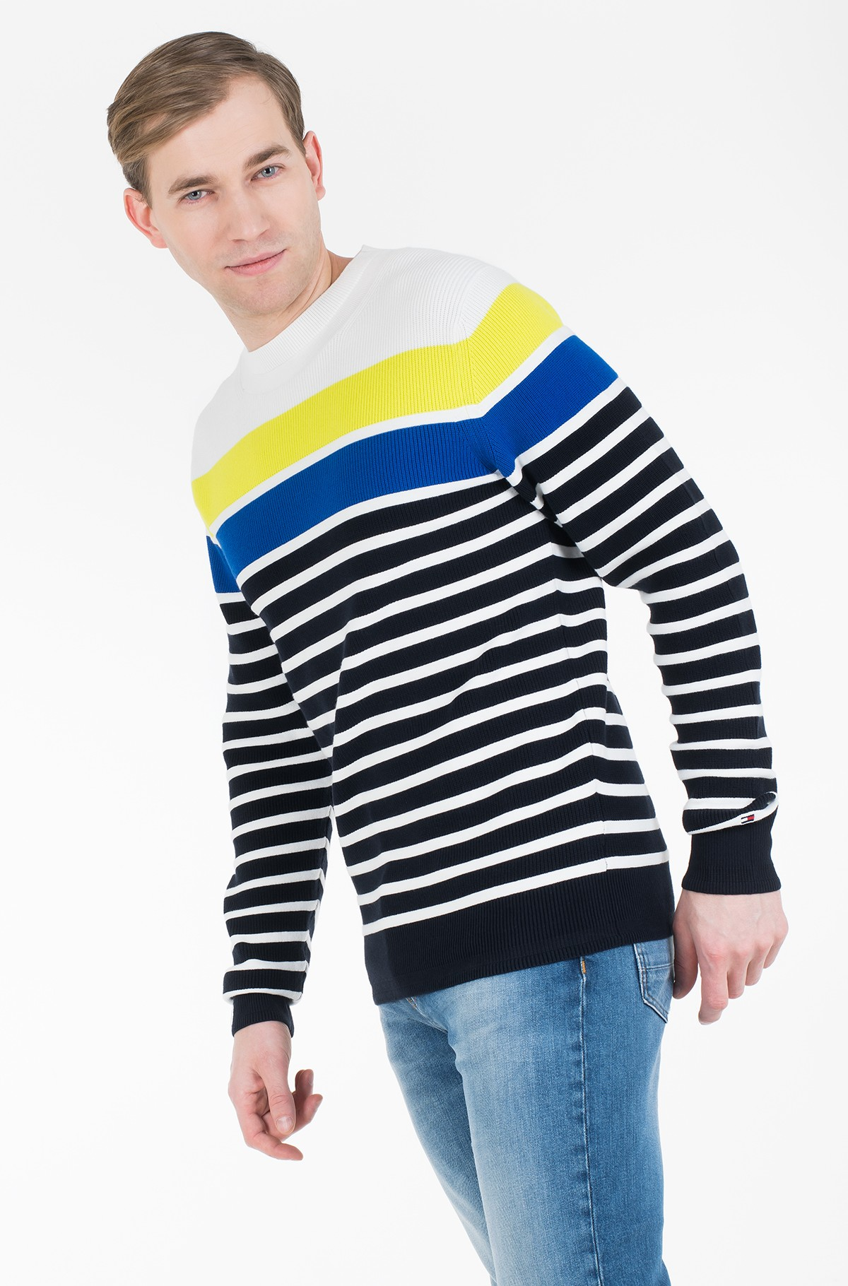 Sweater BRETON STRIPED SWEATER-full-1