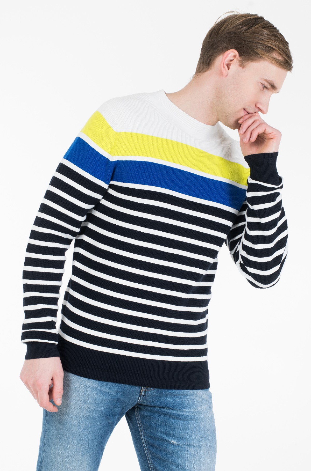 Sweater BRETON STRIPED SWEATER-full-2
