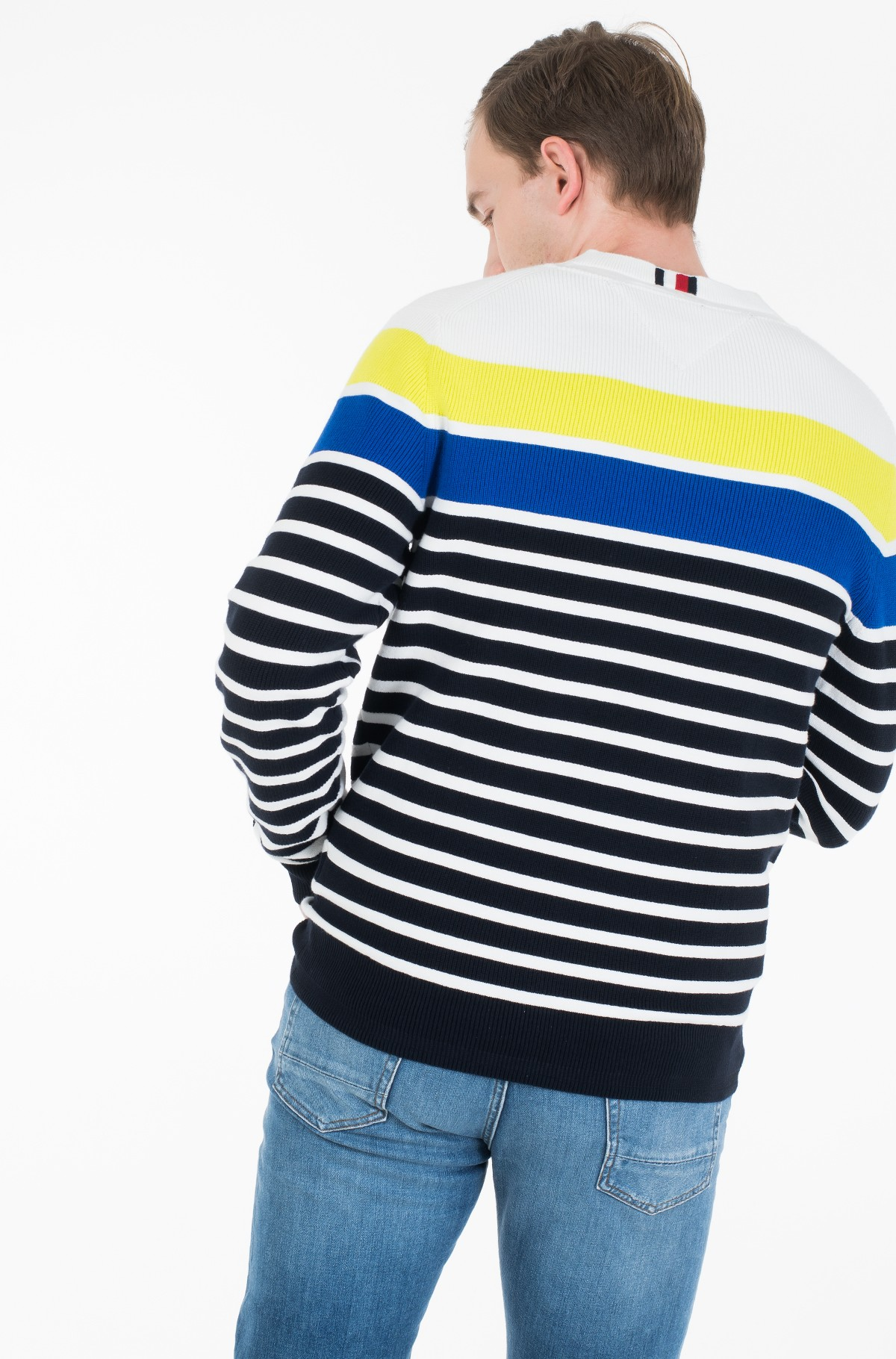 Sweater BRETON STRIPED SWEATER-full-3