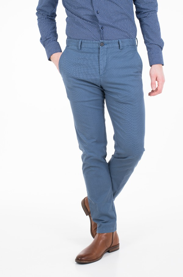 SLIM FIT PRINTED FLEX PANT