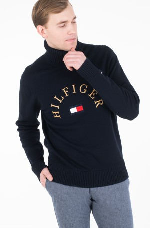 Sweater HILFIGER FLAG ROLL NECK-1