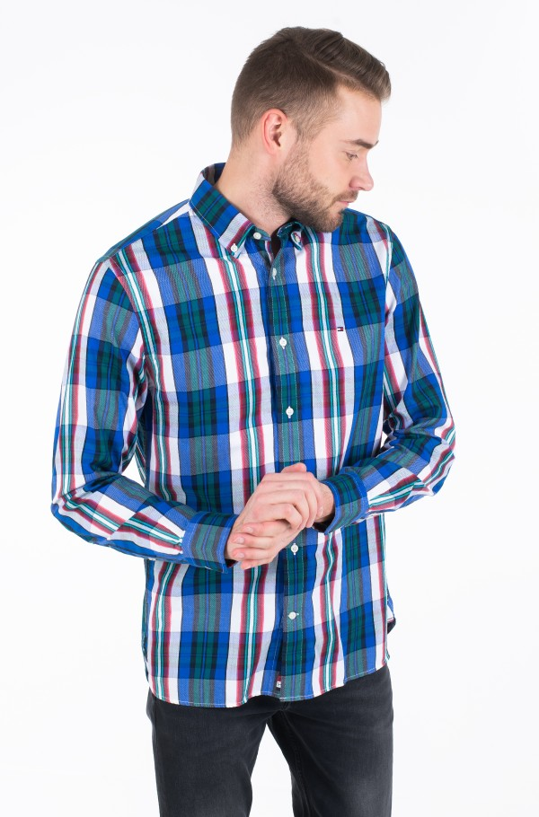 LARGE SHADOW CHECK SHIRT-hover