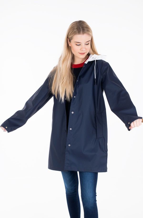 ALICE COLOURBLOCK RAINCOAT