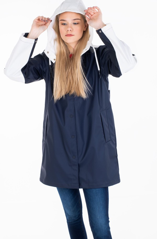 ALICE COLOURBLOCK RAINCOAT-hover
