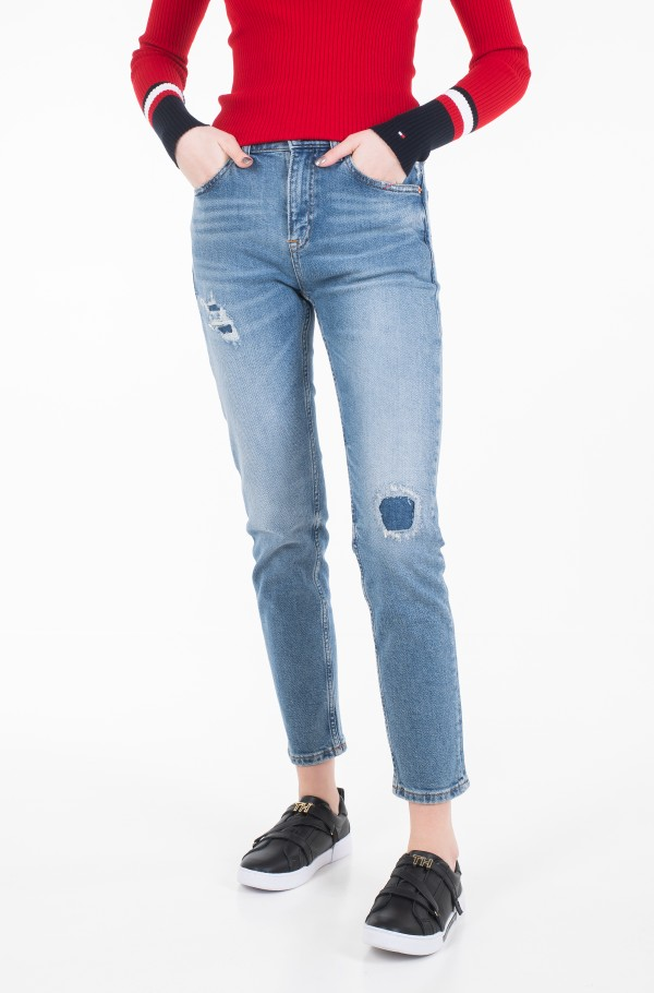 IZZY HIGH RISE SLIM ANKLE ACR