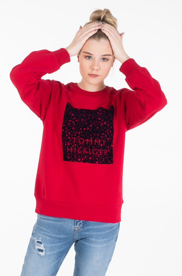 STACY C-NK SWEATSHIRT LS