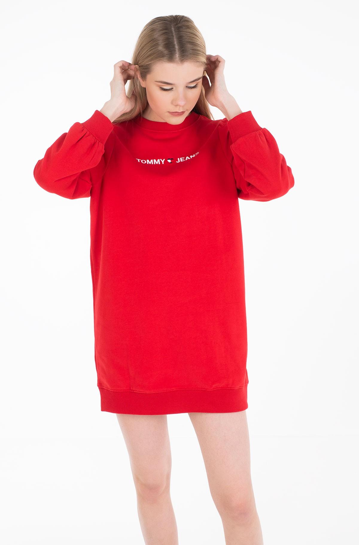 Sweatshirt dress TJW HEART LOGO SWEAT DRESS-full-2