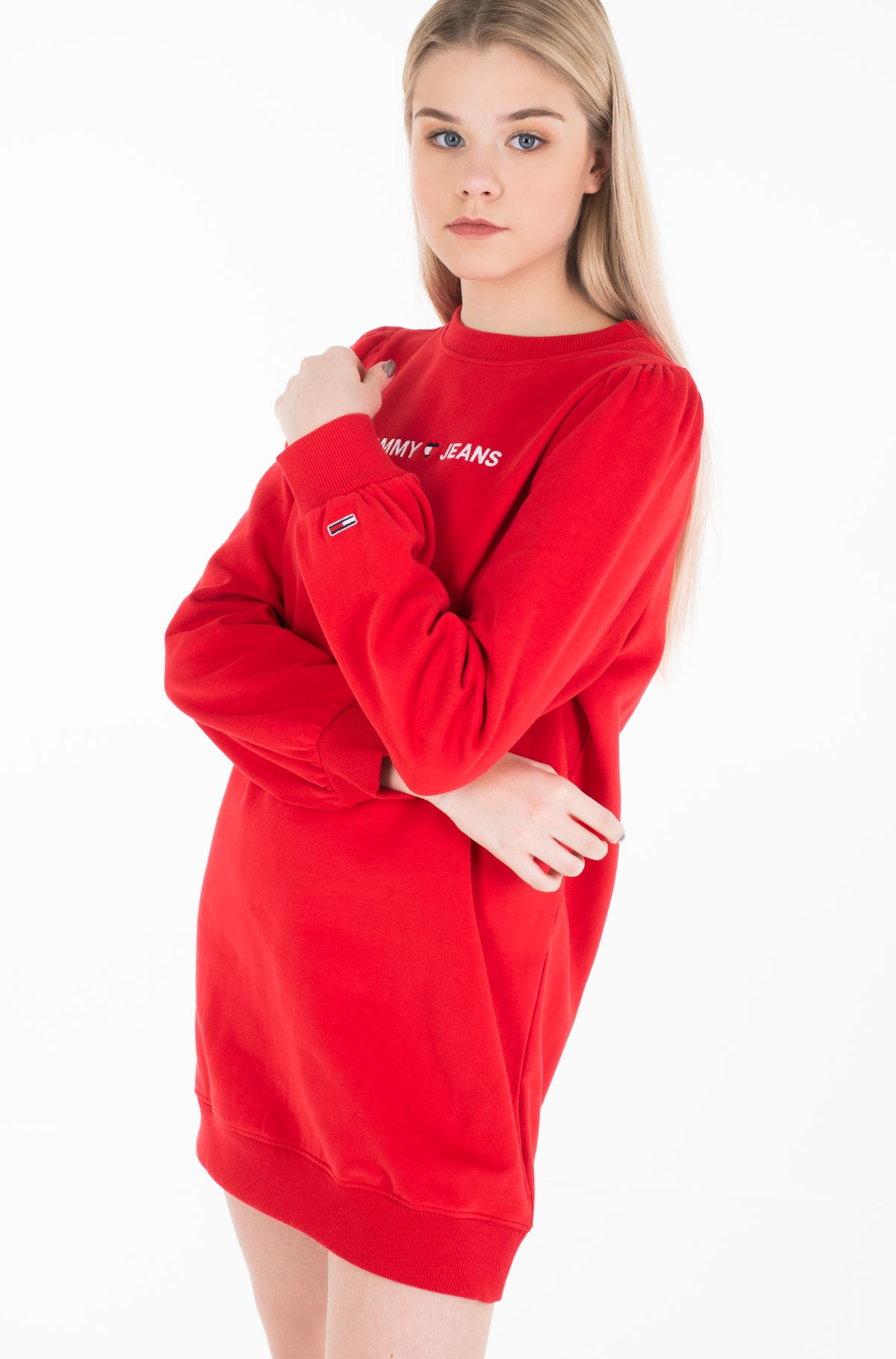 Sweatshirt dress TJW HEART LOGO SWEAT DRESS-full-3