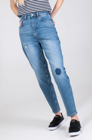 Džinsinės kelnės MOM JEAN HIGH RISE TAPERED AKR-3
