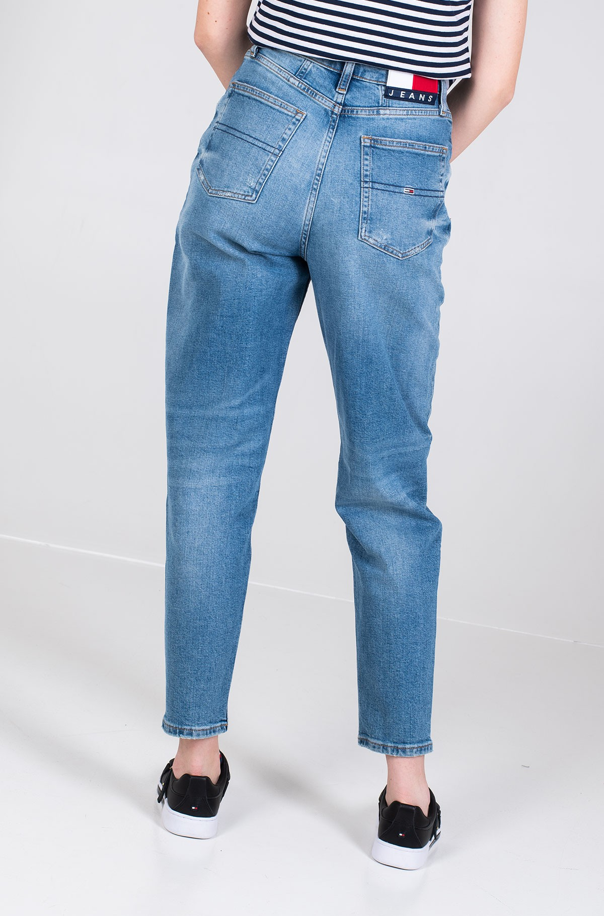 Džinsinės kelnės MOM JEAN HIGH RISE TAPERED AKR-full-4