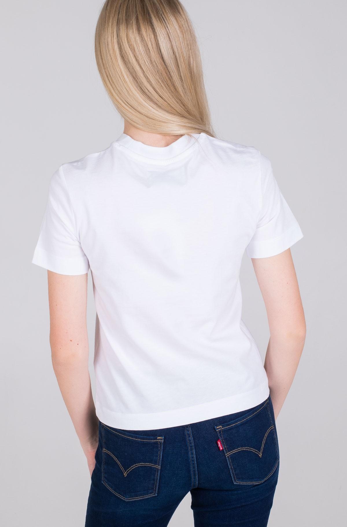 Marškinėliai TAPING THROUGH MONOGRAM TEE-full-2