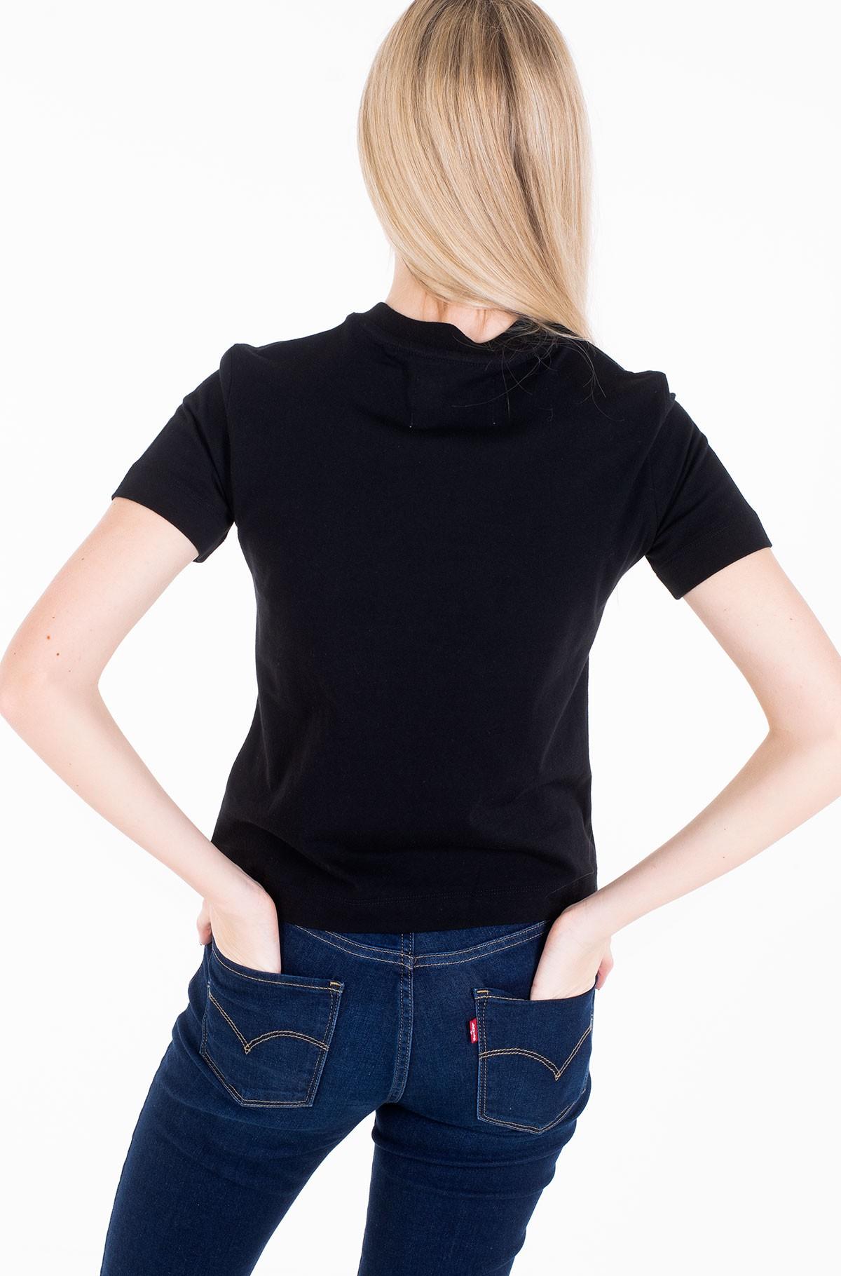 T-shirt TAPING THROUGH MONOGRAM TEE-full-3