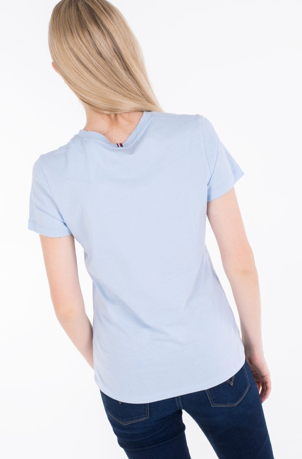 NEW V-NECK TEE-hover