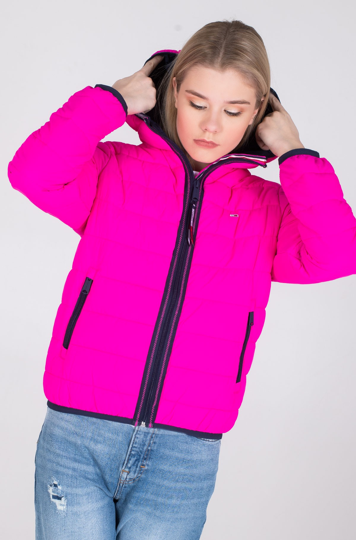 Jope TJW QUILTED TAPE DETAIL JACKET-full-1