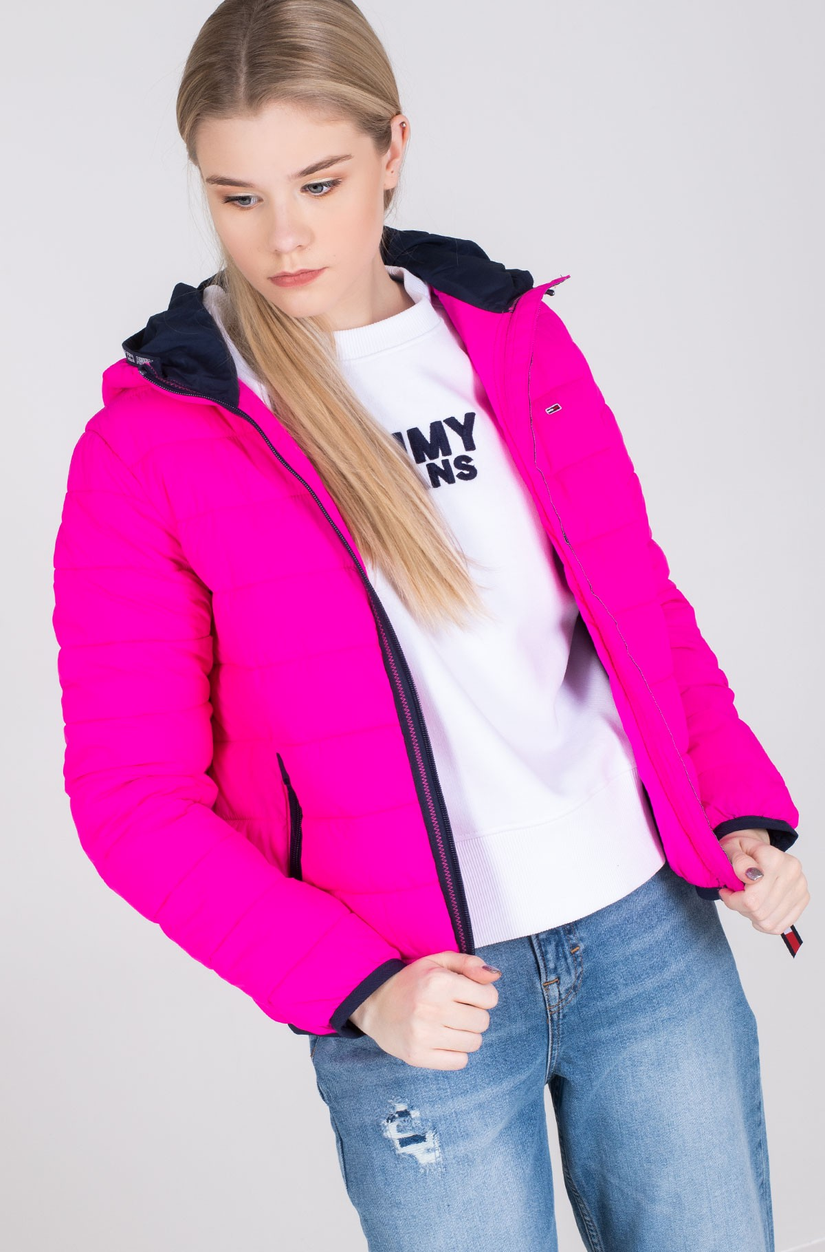 Jope TJW QUILTED TAPE DETAIL JACKET-full-2