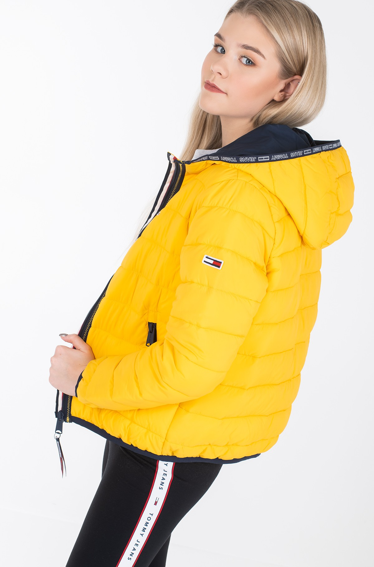 Jacket TJW QUILTED TAPE DETAIL JACKET-full-1