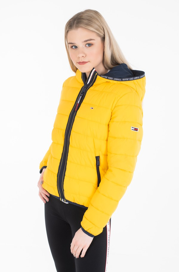 TJW QUILTED TAPE DETAIL JACKET-hover