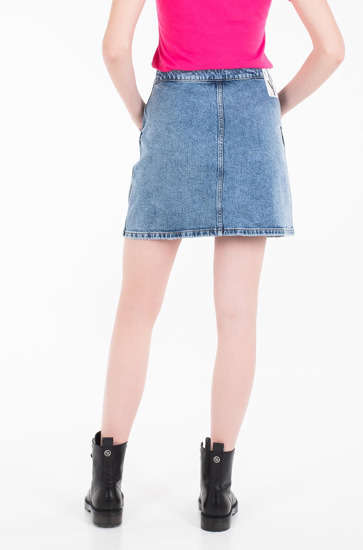 Denim skirt  BUTTON DOWN UTILITY SKIRT J20J212786-full-3