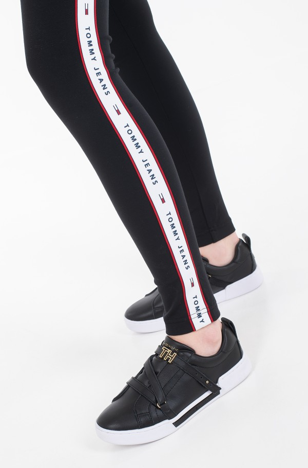 TJW TAPE DETAIL LEGGINGS-hover
