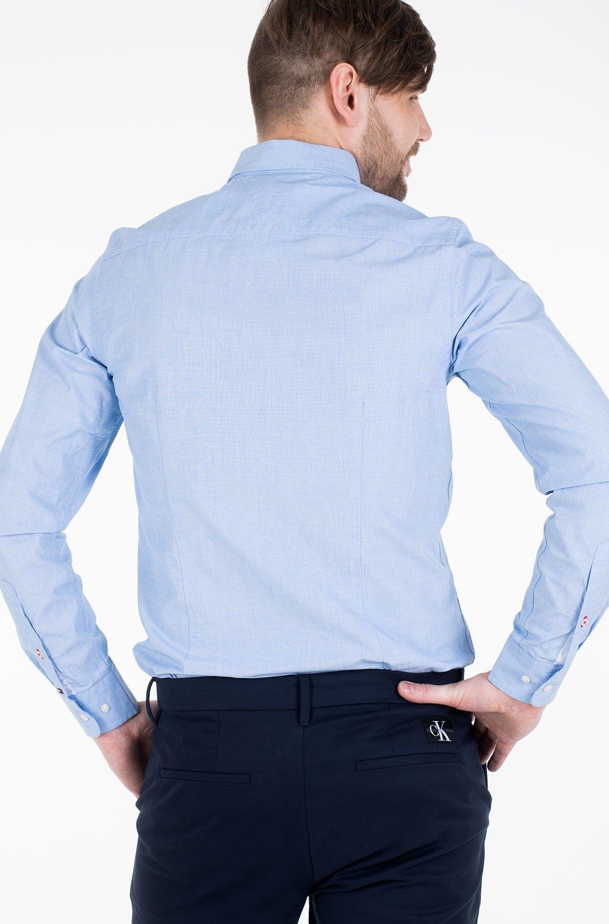 Marškiniai SLIM GLOBAL STRIPE SHIRT-full-2