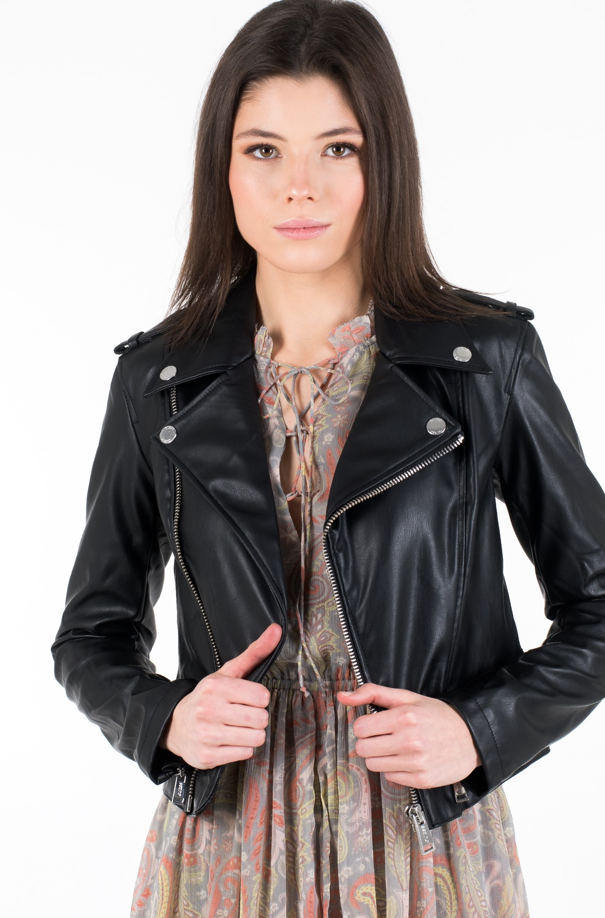Leather jacket W01L83 WAOO0-full-1