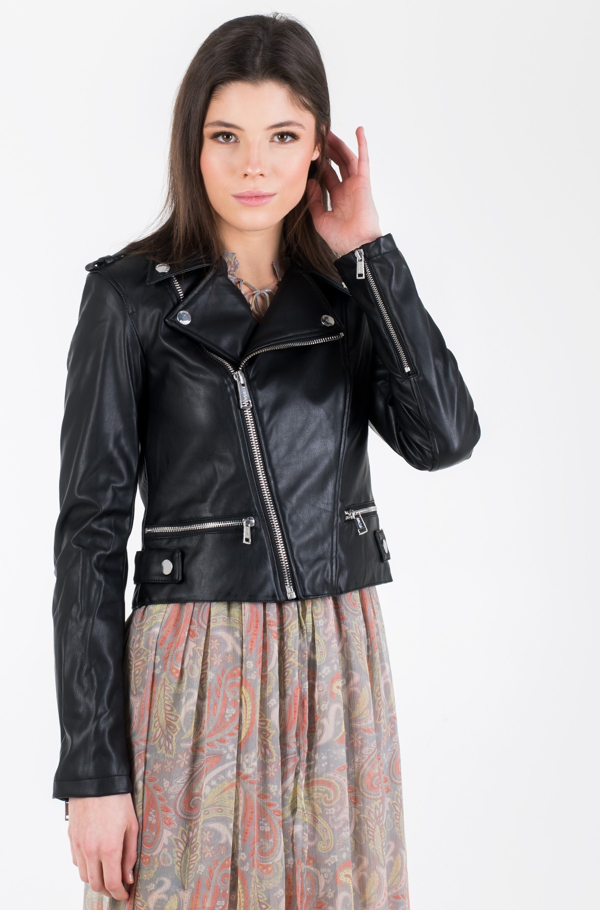 Leather jacket W01L83 WAOO0-full-3