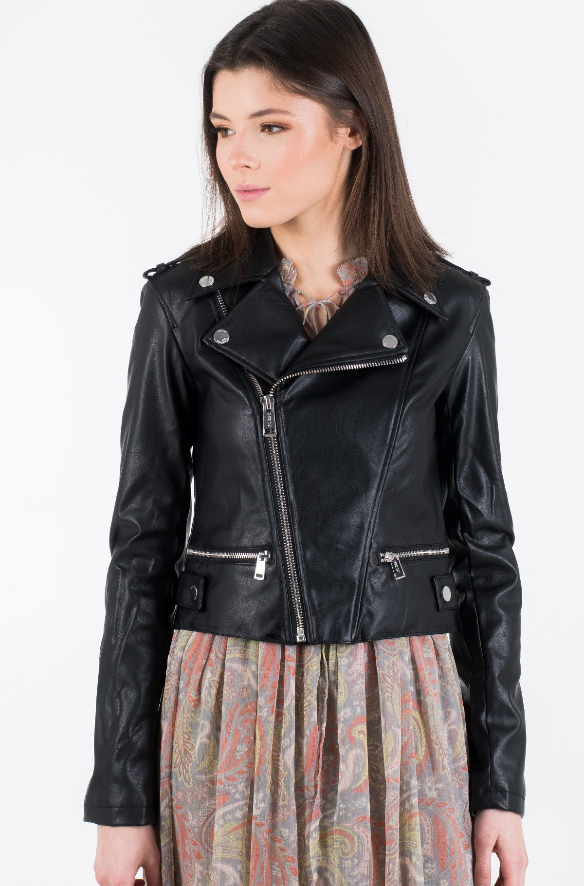 Leather jacket W01L83 WAOO0-full-4