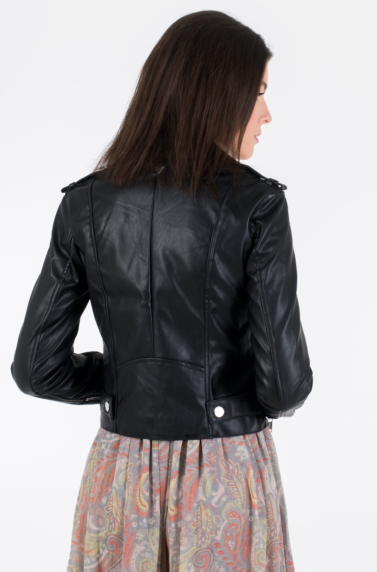 Leather jacket W01L83 WAOO0-full-5