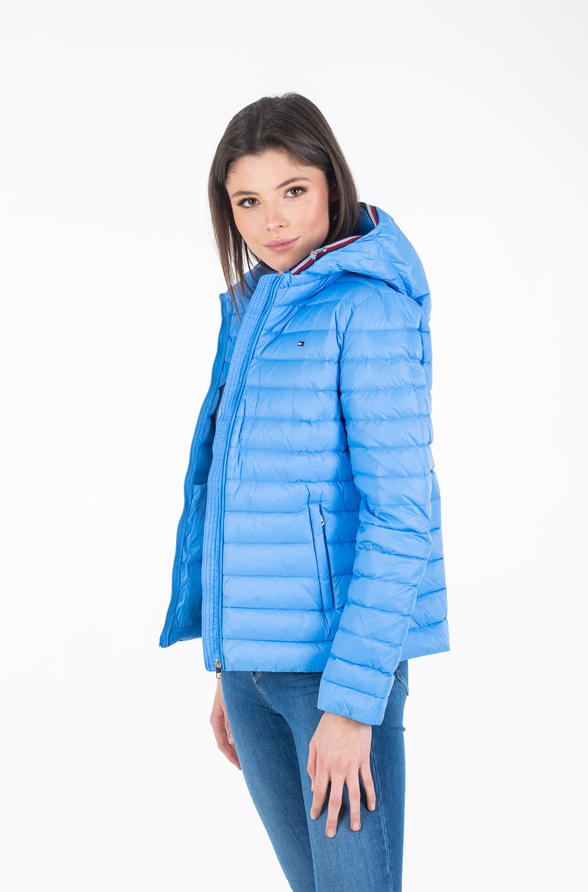 Jacket TH ESSENTIAL LW DWN PACK JKT-full-2