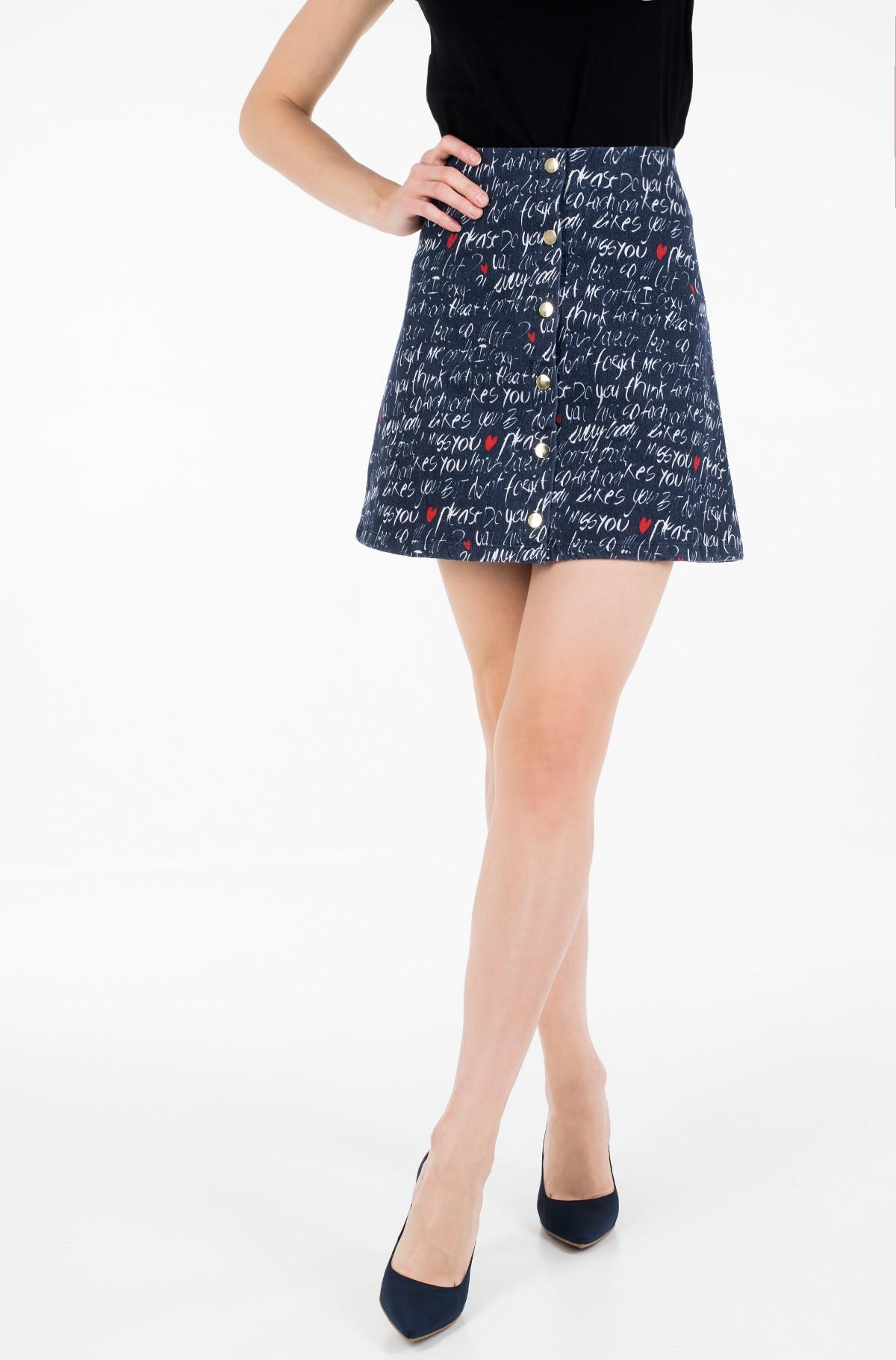 Leather skirt Laada PU-full-2