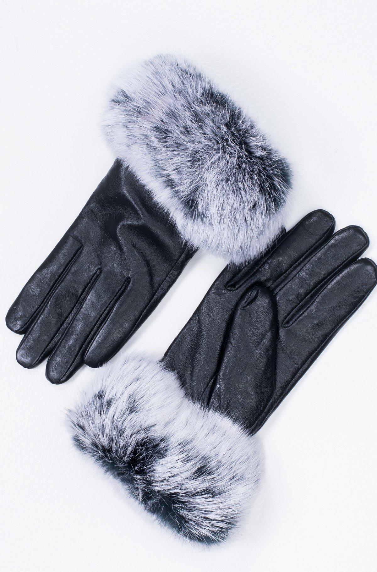 Leather gloves Women`s glove GF32-full-1