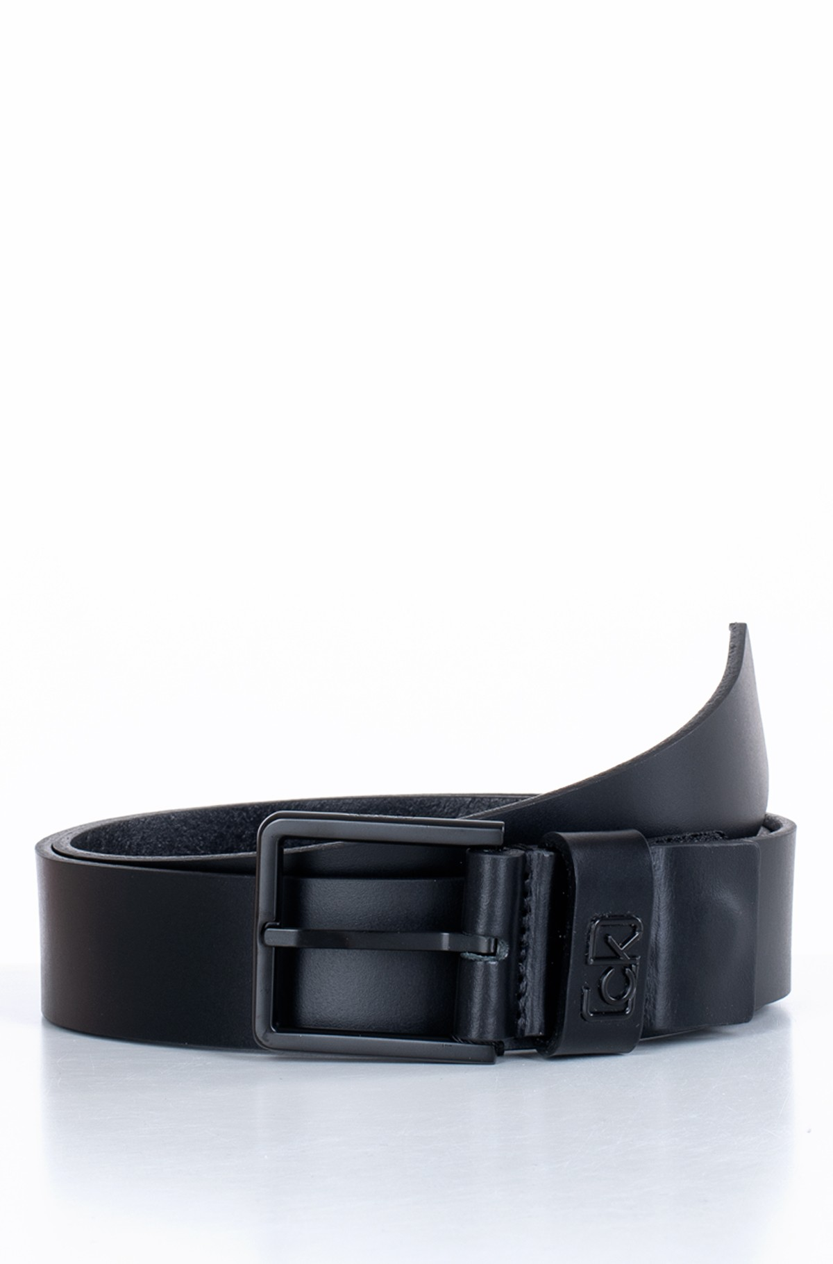 Diržas 35MM ADJ CK SIGNATURE LOOP BELT-full-1