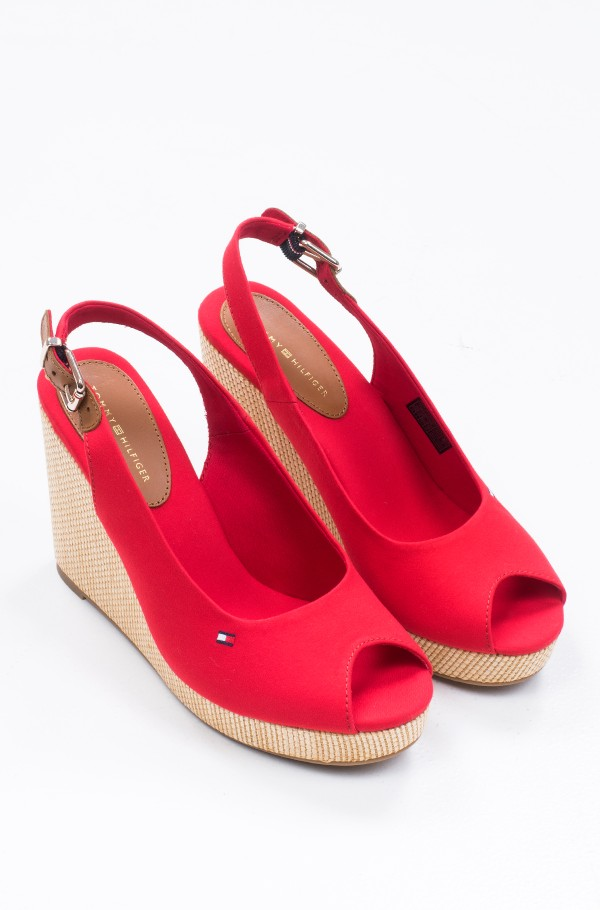 ICONIC ELENA SLING BACK WEDGE