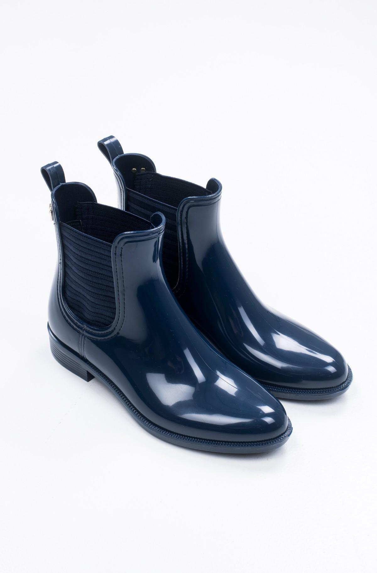 Guminiai batai FEMININE PATENT RAINBOOT-full-2