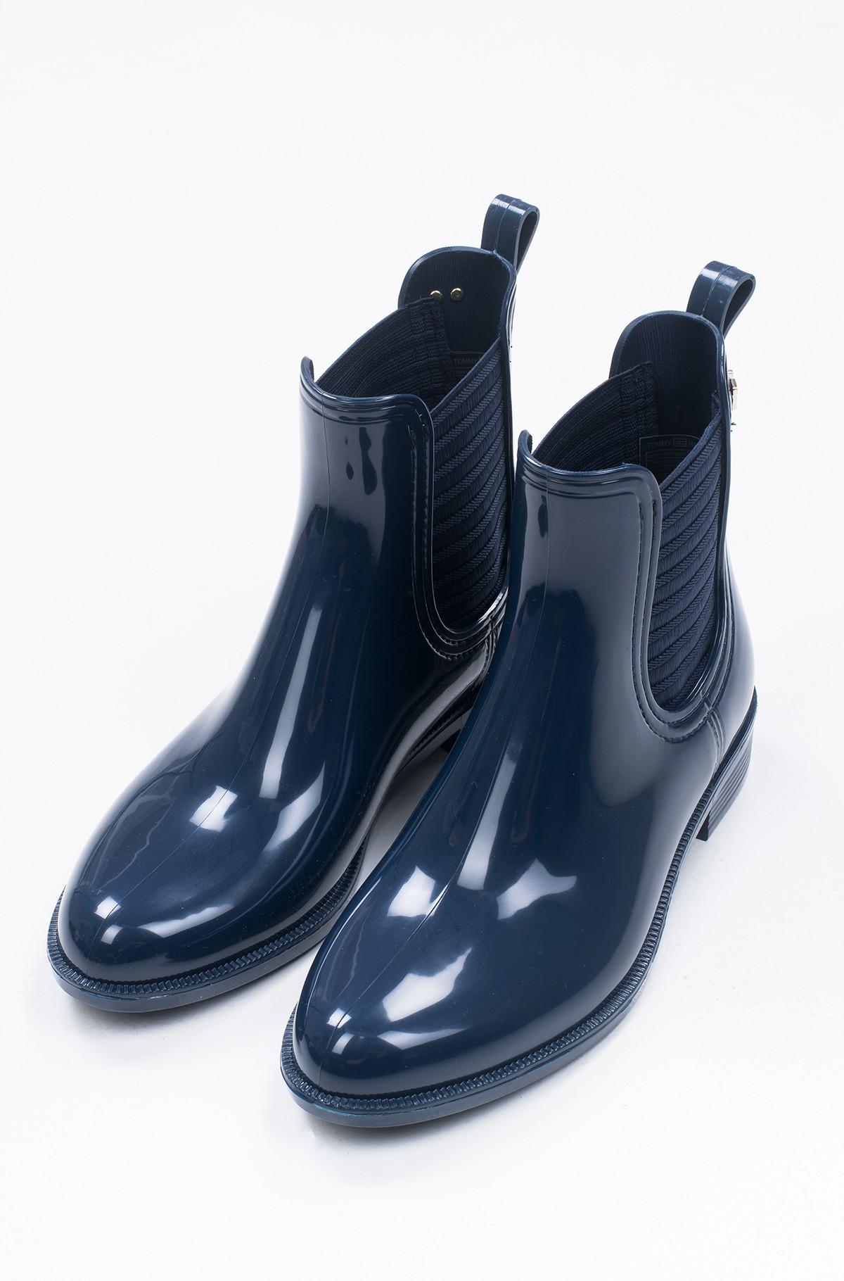 Guminiai batai FEMININE PATENT RAINBOOT-full-3