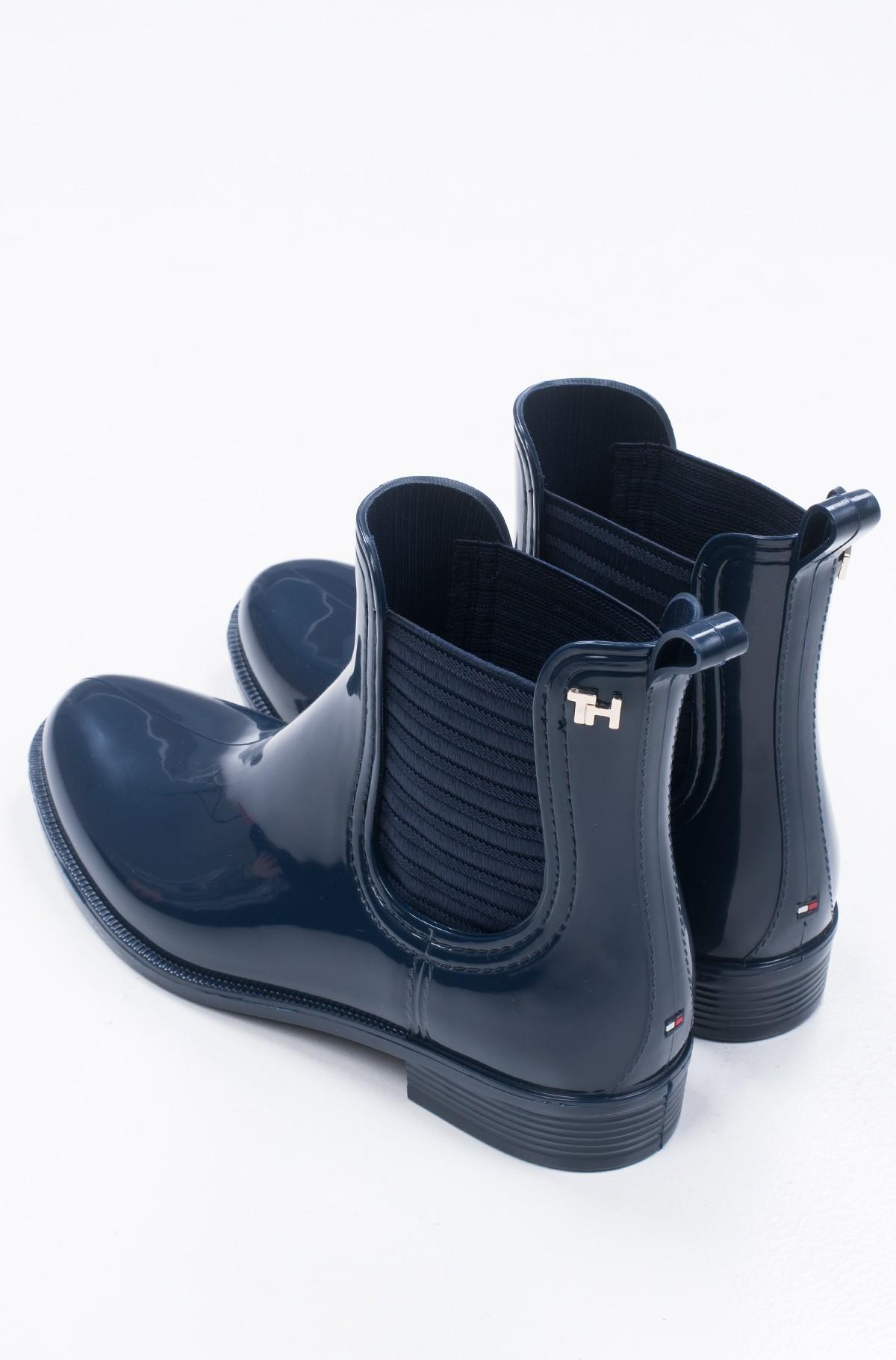 Guminiai batai FEMININE PATENT RAINBOOT-full-4