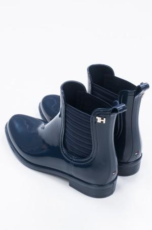 Guminiai batai FEMININE PATENT RAINBOOT-4