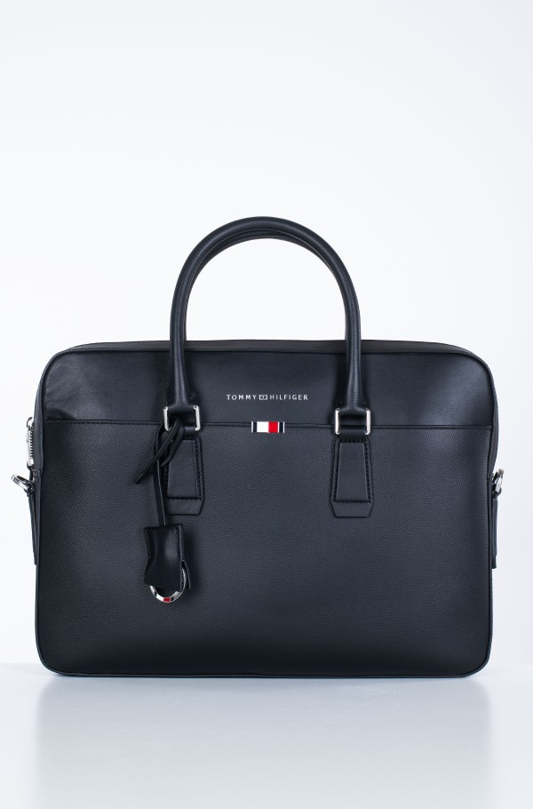 BUSINESS LEATHER SLIM COMP BAG