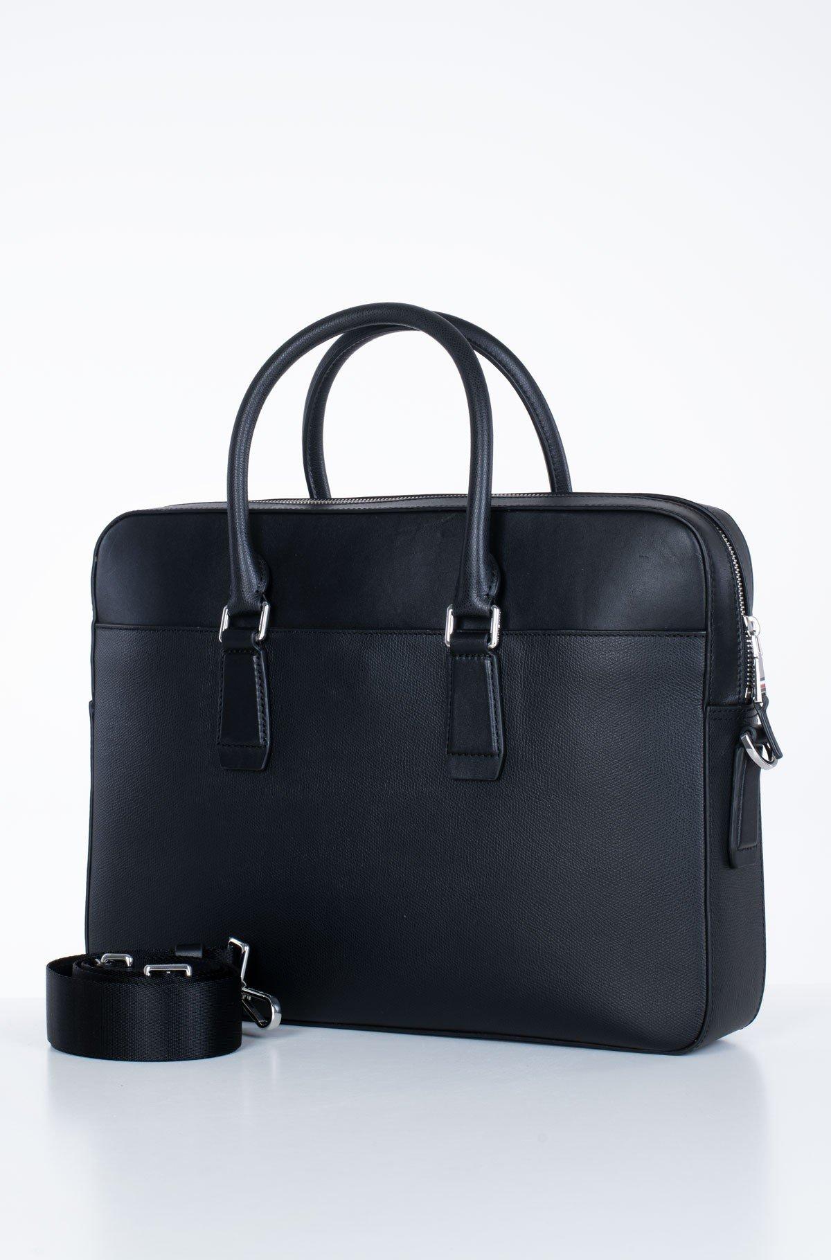 Kompiuterio krepšys  BUSINESS LEATHER SLIM COMP BAG-full-2